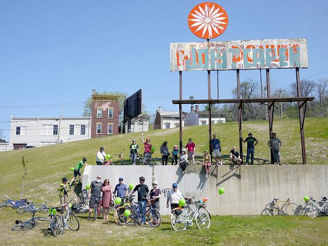 Central Parkway bikepath ride