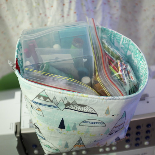 New Fabric Basket