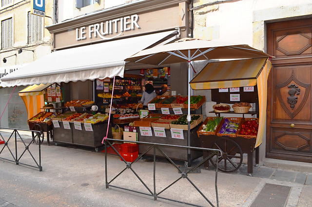 Greengrocer, Carcassonne, France