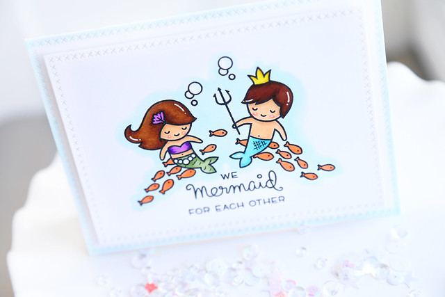 we mermaid for each other {new Lawn Fawn}