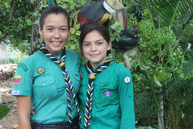 Oriana and Vanesa.