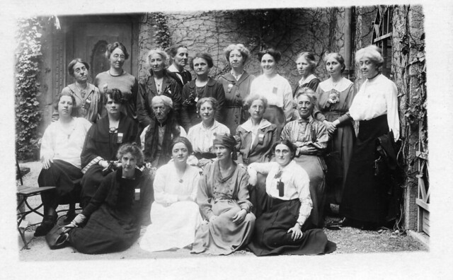 British delegation at the 2nd international conference held by the Women's International League for Peace and Freedom conference, Zurich, 1919. Credit: LSE Library