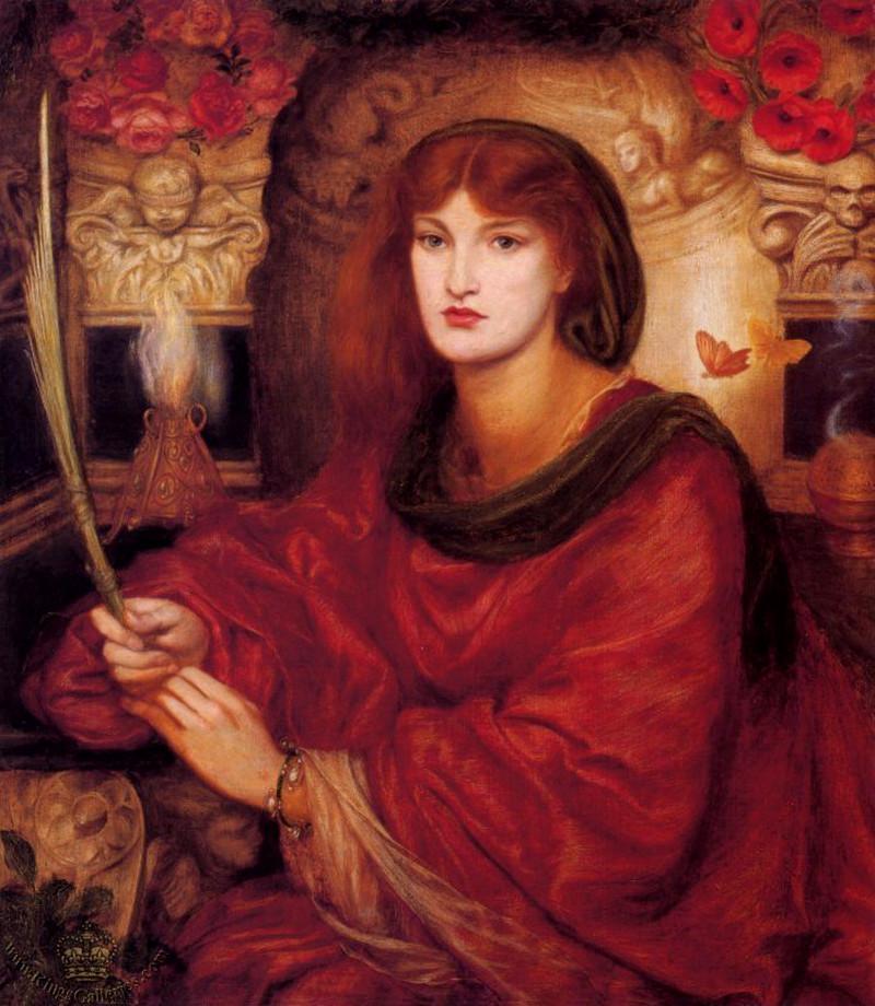 Sybilla Palmifera by Dante Gabriel Rossetti - 1866-1870