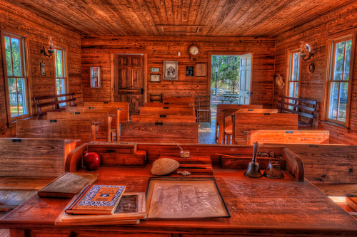 old school clock apple bell florida desk nik schoolhouse hdr bradenton topaz oldflorida photomatix manateevillagehistoricalpark