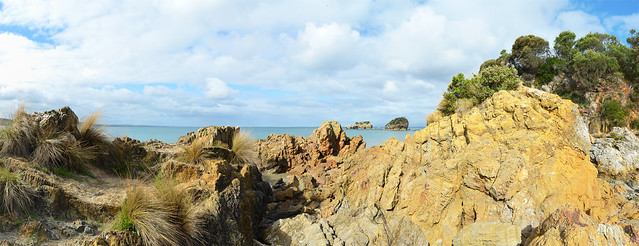 The beach at Waratah Bay has heaps of rock formations and caves to explore - Cape Liptrap Coastal Park - Walkerville - Victoria