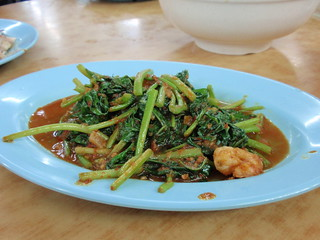 Stir Fried Sweet Potato Leaves With ...