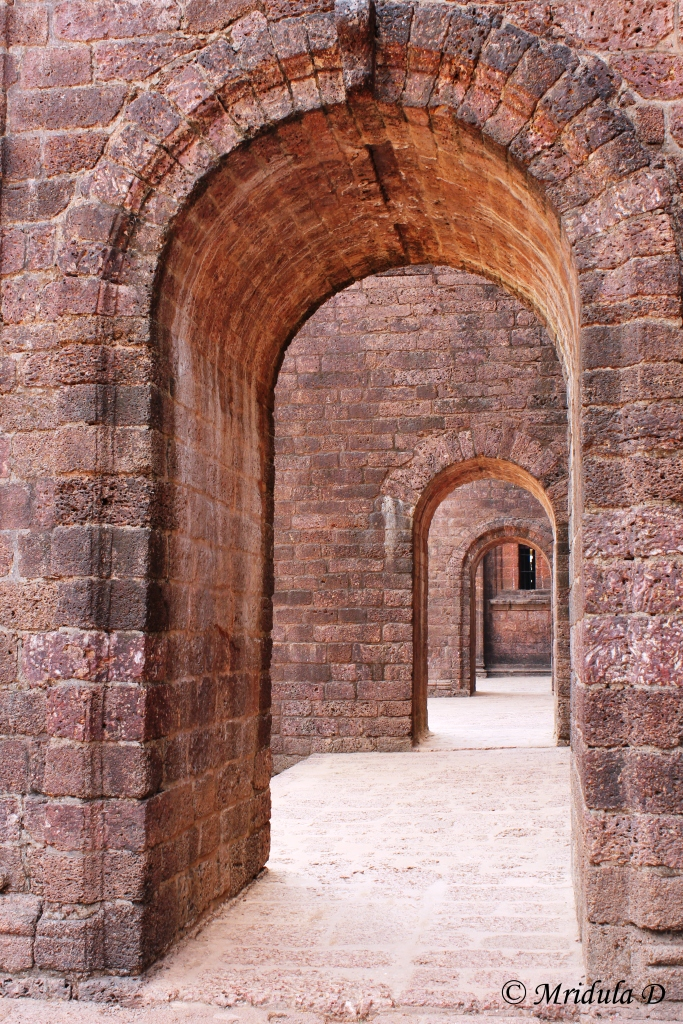 The Arches at the Basilica of Bom Jesus, Goa