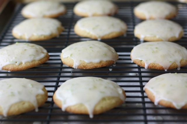 Cornmeal Lime Cookies