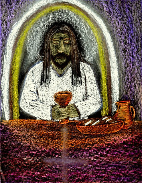 Maundy Thursday Clipart Holy week art: cup of