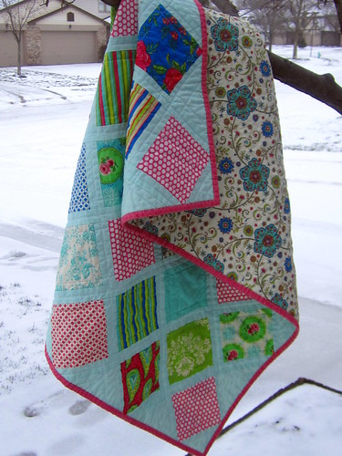 Summer House Baby Quilt