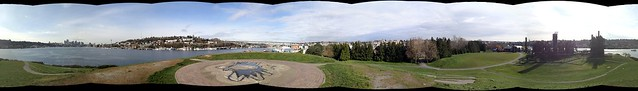 Gas Works park via photosynth