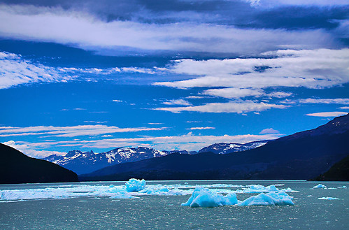 patagonia lake gelo argentina clouds landscape lago paradise ode paraiso montanhas skyblue montains céuazul icberg