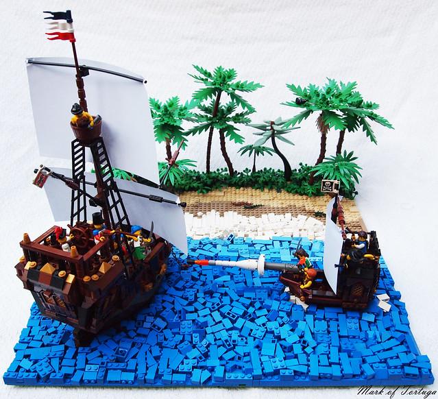 Flickr find mark of tortuga strikes again pirate mocs eurobricks forums - Ile pirate lego ...