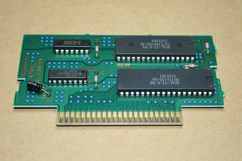SHVC-BJON-01 PCB from Street Fighter II Turbo for the SNES (PAL)