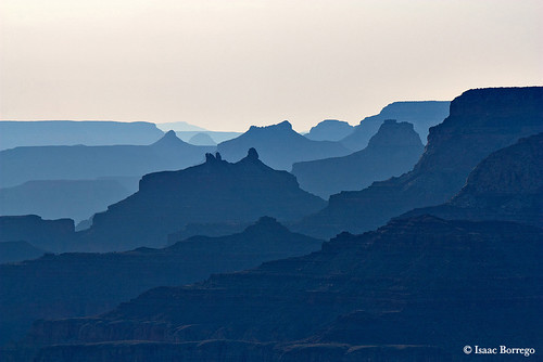 Shades of Blue - Grand Canyon National Park, Arizona