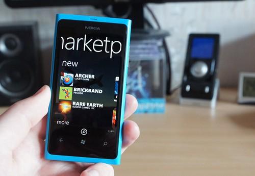NOKIA LUMIA 800 Windows Phone išmanusis telefonas
