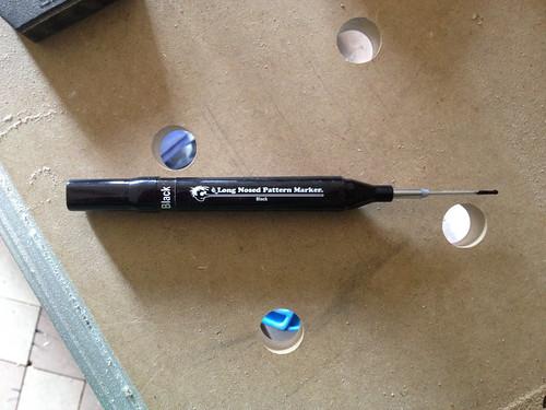 Fast Cap Marking Pen