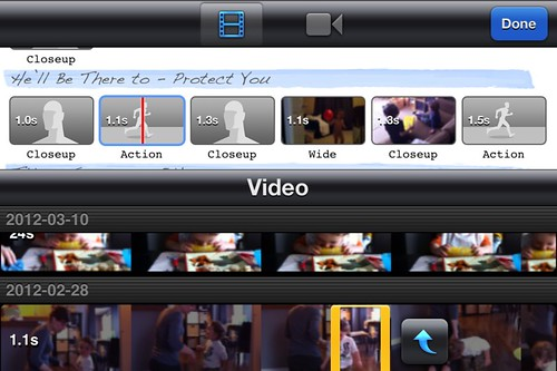 iMovie iPhone