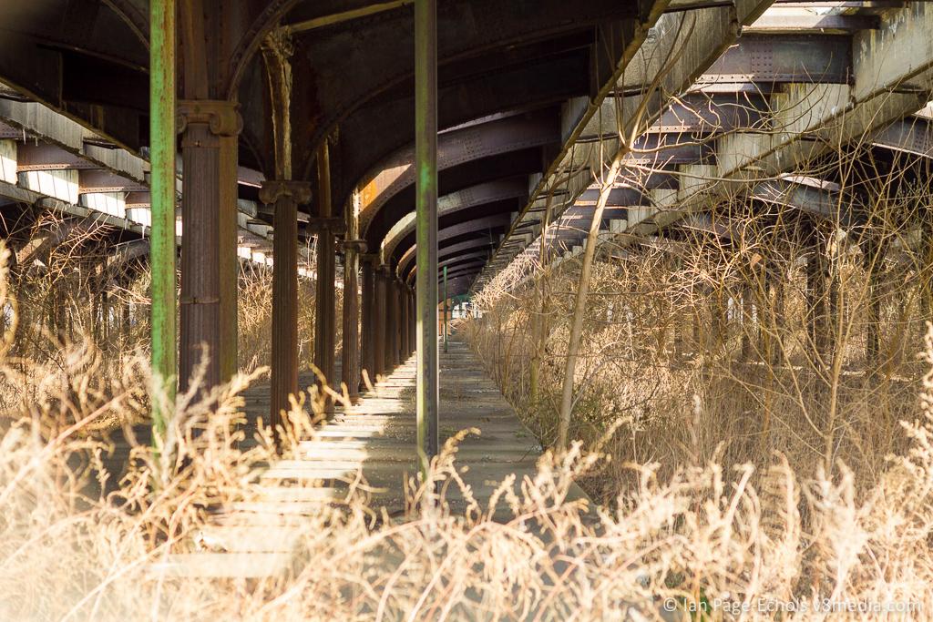 Old Train Terminal Near Ellis Island and Jersey City