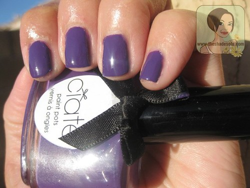 Ciate Nail Lacquer in Talent Scout Swatches and Review