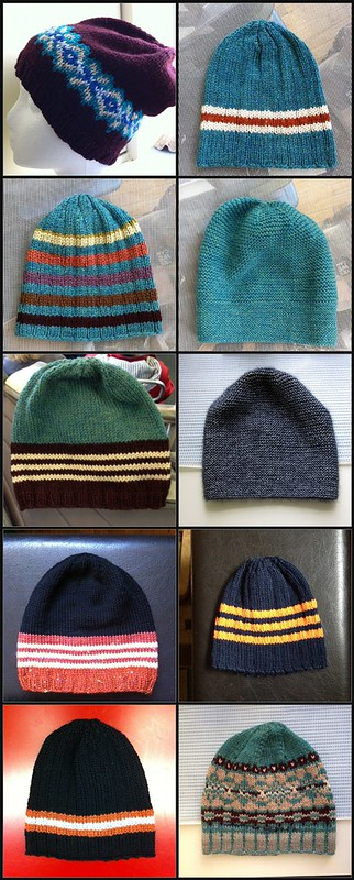 10% down. 10/100 hats from stash!