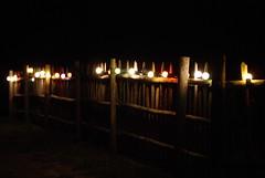 Coloured lights - Photo of Châtignac
