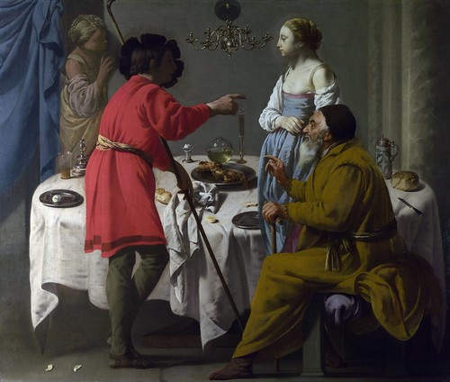 Hendrick her Brugghen - Jacob Reproaching Laban [1627] by Gandalf's Gallery