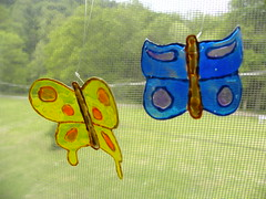 Recycled Butterflies