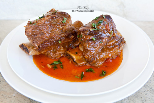 Plated short ribs