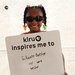 KLRU inspires me to ... learn better and work harder