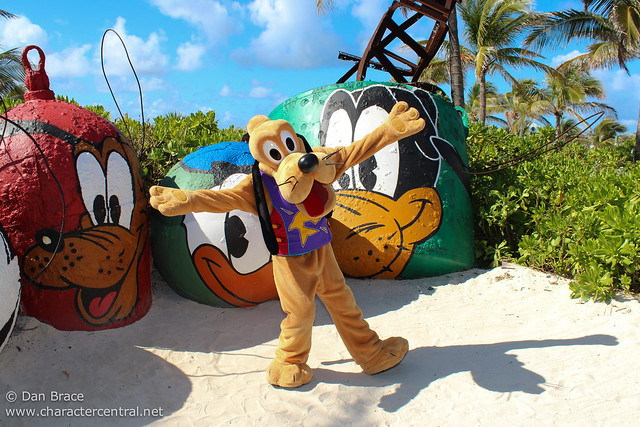 Having fun at Castaway Cay!