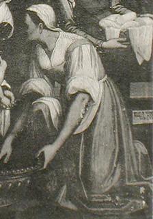 Pietro Ronzelli: Nativita della Vergine, Chiesa del Carmine, Bergamo