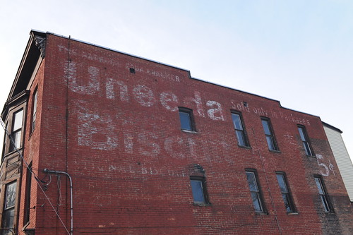 Uneeda Biscuit Ghost Sign, Schenectady, N.Y.