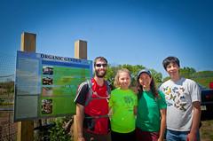 Earth Day - Bike to Metzgar Fields - Organic Garden