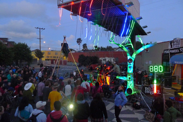 Bicycle Music Festival potrero hill san francisco