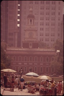 Sunday Morning Flea-market In Independence Square In The Center City Area, August 1973