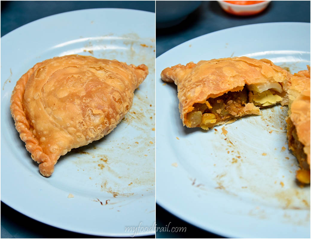 Singapore Hawker Food - Tanglin Curry Puff
