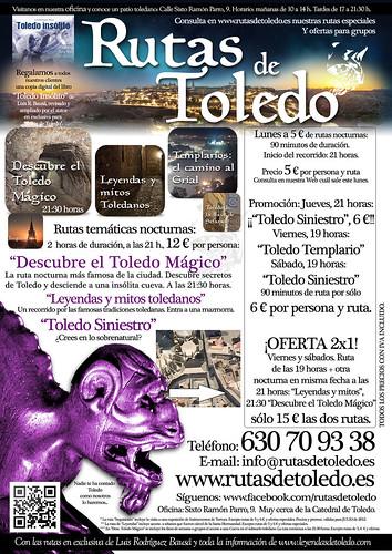 2x1 en rutas por Toledo