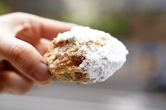 fried oreo @ led zeppole