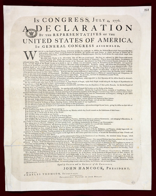 Invaluable image in printable declaration of independence pdf