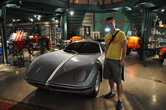 First prototype Lamborghini sports car