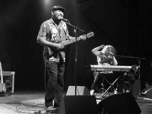 Super Chikan at Ottawa Bluesfest 2012