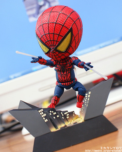 Spidey in action!