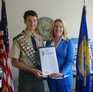 Eagle Scout Sean Foote