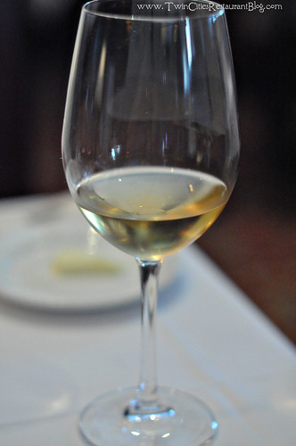 Simicic, 2008-2009 Rebula froim Slovenia served at The Capital Grille