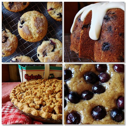Blueberry Festival At Home