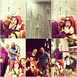 BIL's tour at Dubai Mall. First time to see the Waterfall Atrium as well. Gondo lang!