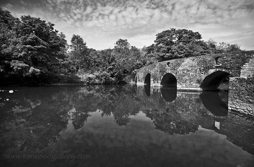 THE DIPPING BRIDGE, MERTHYR MAWR, BRIDGEND...