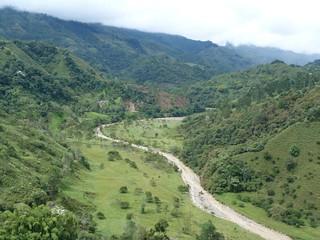 Vistas desde Salento (Colombia)