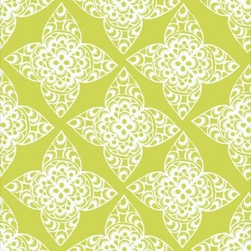 Ty Pennington Impressions Chartreuse Lace Fabric